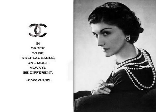 COCO CHANEL FASHION DESIGNER