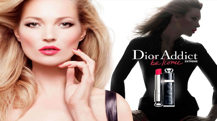 KATE MOSS  for DIOR  campaign   KATE MOSS JOIN BRITISH VOGUE TEAM  Kate Moss Dior Addict Extrme 02