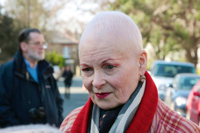 vivienne-westwood-shaved-hair  The latest celebrity hair transformations vivienne westwood shaved hair1