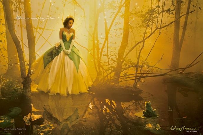 Jennifer-Hudson-as-Tiana-Disney-Characters-Fashion-Design-Weeks