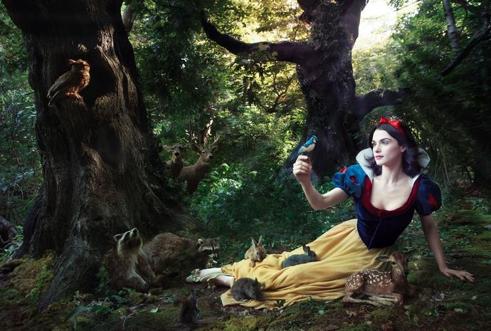 Rachel-Weisz-as-Snow-White-Disney-Characters-Fashion-Design-Weeks