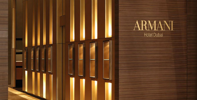 Haute Couture Hotels – The Best Fashion Hotels (Part I) 006148 06 armani hotel dubai lobby