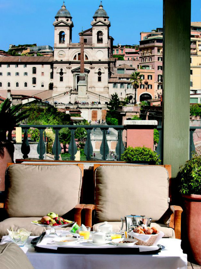 Haute couture hotels the best fashion hotels part ii for Top design hotels rome