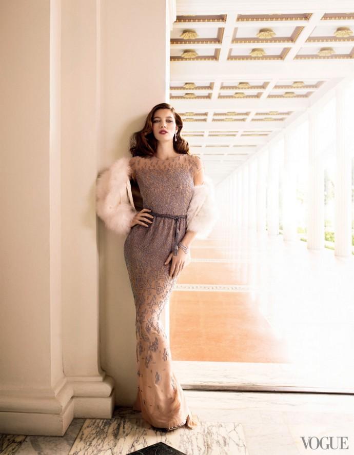 Osca-de-la-Renta-in-Vogue-Jessica-Biel  Oscar de la Renta in Vogue Osca de la Renta in Vogue Jessica Biel