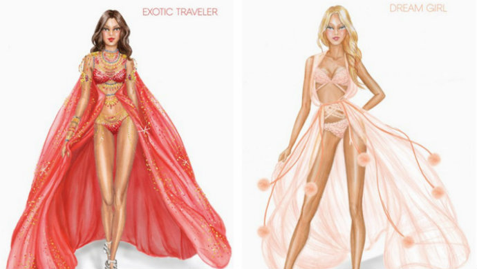 victoria s secret 2014 show themes revealed fashion