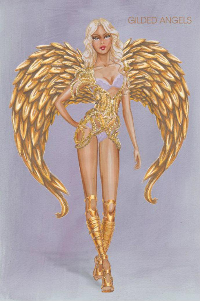 Victorias-Secret-2014-Show-Themes-Revealed-Gilded-Angels  Victoria's Secret 2014 Show Themes Revealed Victorias Secret 2014 Show Themes Revealed Gilded Angels 2