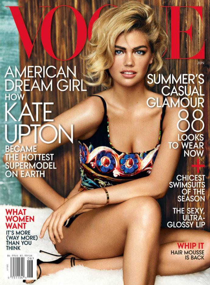 Fashion-Design-Weeks-Celebrity-Vogue-kate-upton  Celebrity Vogue Covers Fashion Design Weeks Celebrity Vogue kate upton