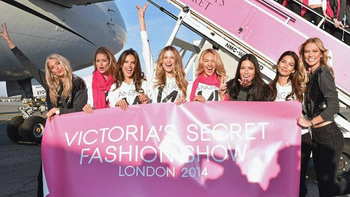 Victoria's Secret Special Flight to London