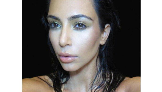 Kim-Kardashian-Reveals-the-Cover-of-Her-New-Selfie-Book  Kim Kardashian Reveals the Cover of Her New Selfie Book B70LRI2CQAExxEF