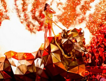 Katy Perry Half-Time performance at Super Bowl 2015