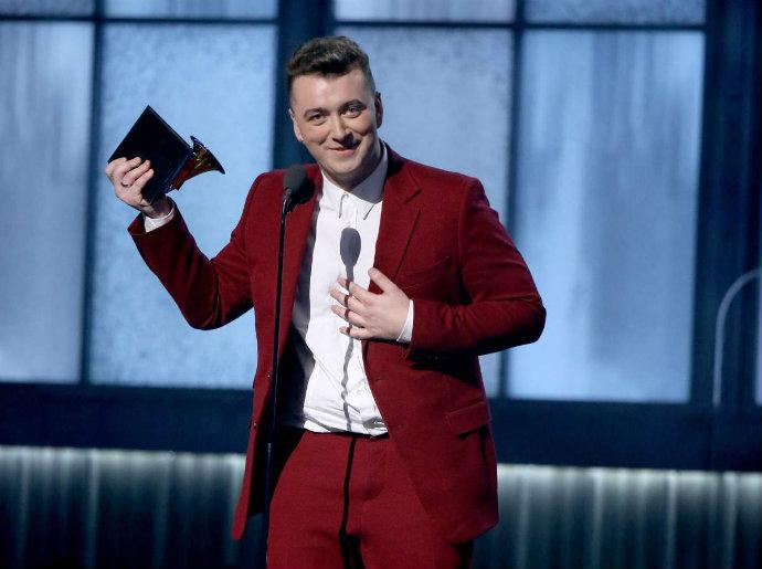 Fashion-Design-Weeks-Best-Moments-of-The-2015-Grammy-Awards-Sam-Smith
