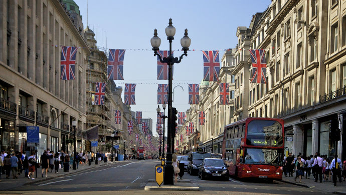 5 best stores in London Regent Street London