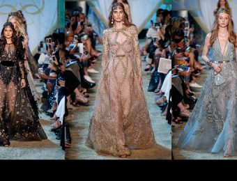 20 Amazing Looks From Elie Saab Fall Winter 2017 Couture Collection