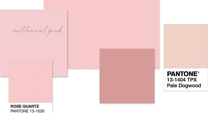 Millennial Pink - Fashion Tips Of How To Wear The Colour Of The Moment