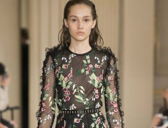 Fashion Guide With The Best Floral Trends For Fall Winter 2017