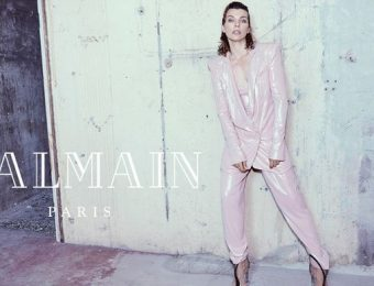 Milla Jovovich Stuns in New Balmain Autumn 2018 Campaign