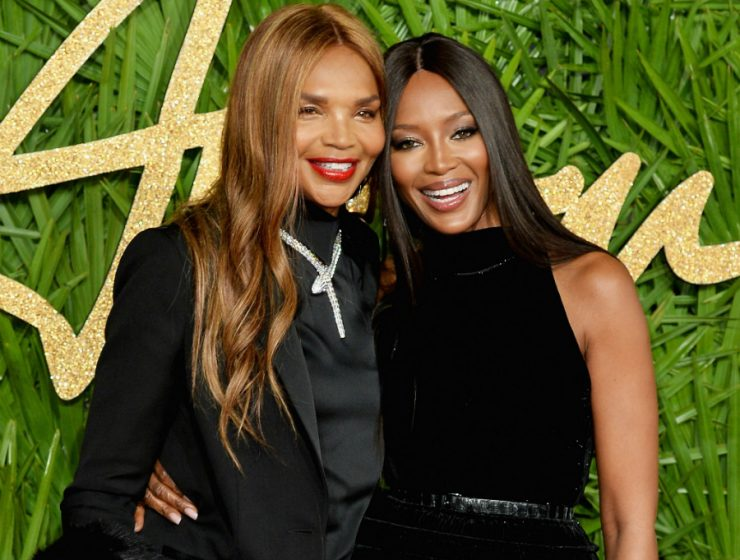 Naomi Campbell Naomi Campbell and her Mother Star in Burberry Holiday Campaign 120517 naomi campbell valerie morris 740x560