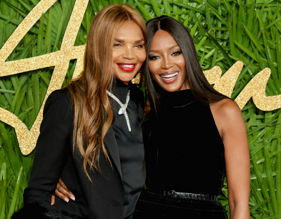 Naomi Campbell Naomi Campbell and her Mother Star in Burberry Holiday Campaign 120517 naomi campbell valerie morris
