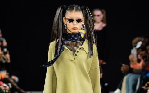 Alexander Wang Alexander Wang Debuts his Collection 2 for Spring 2019 ggggg 480x300