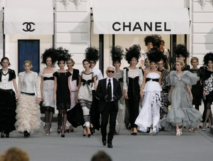 Karl Lagerfeld Karl Lagerfeld and Chanel Will Feature on a Fashion Netflix Show ppppp 740x560